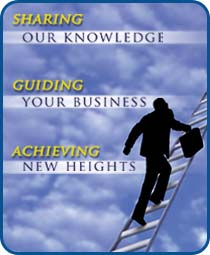 Sharing our knowledge. Guiding your business. Achieving new heights.